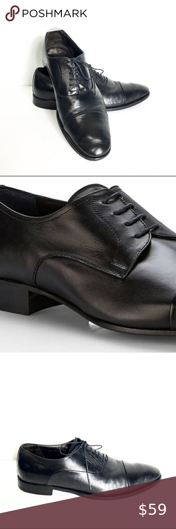 Brunomagli Men S Black Shoes Made In Italy 10 Black Shoes Dress Shoes Men Black Leather Dresses [ 1740 x 580 Pixel ]