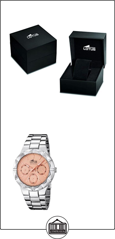 30181d67cb79 Lotus 0 - Reloj de cuarzo para mujer, con correa de acero inoxidable ...