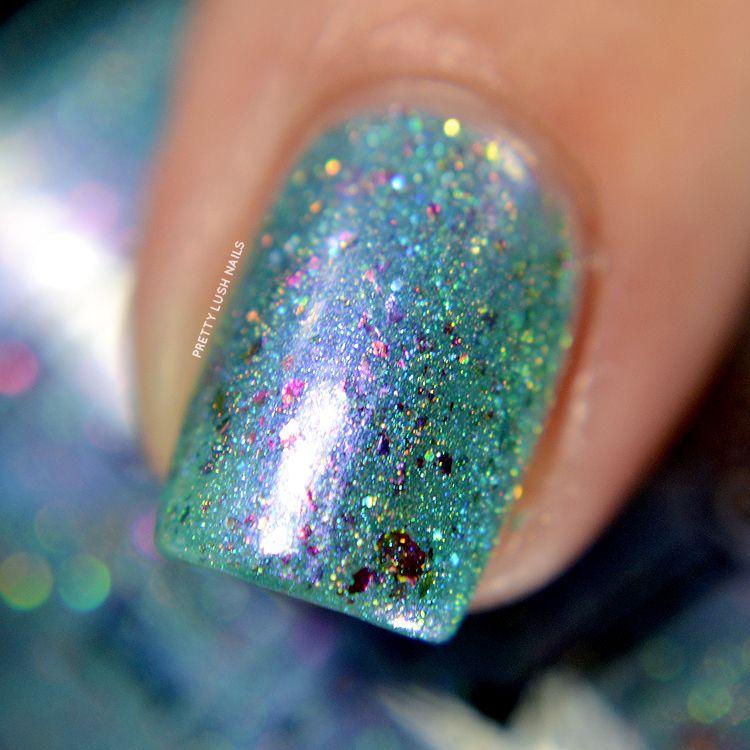 Tonic Polish Rainbowfish | Pretty Lush Nails | Nails | Pinterest | LUSH
