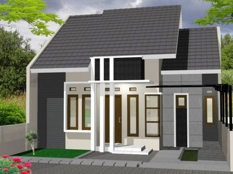 Desain Rumah Minimalis Type 36 72 Desain Eksterior Desain Rumah