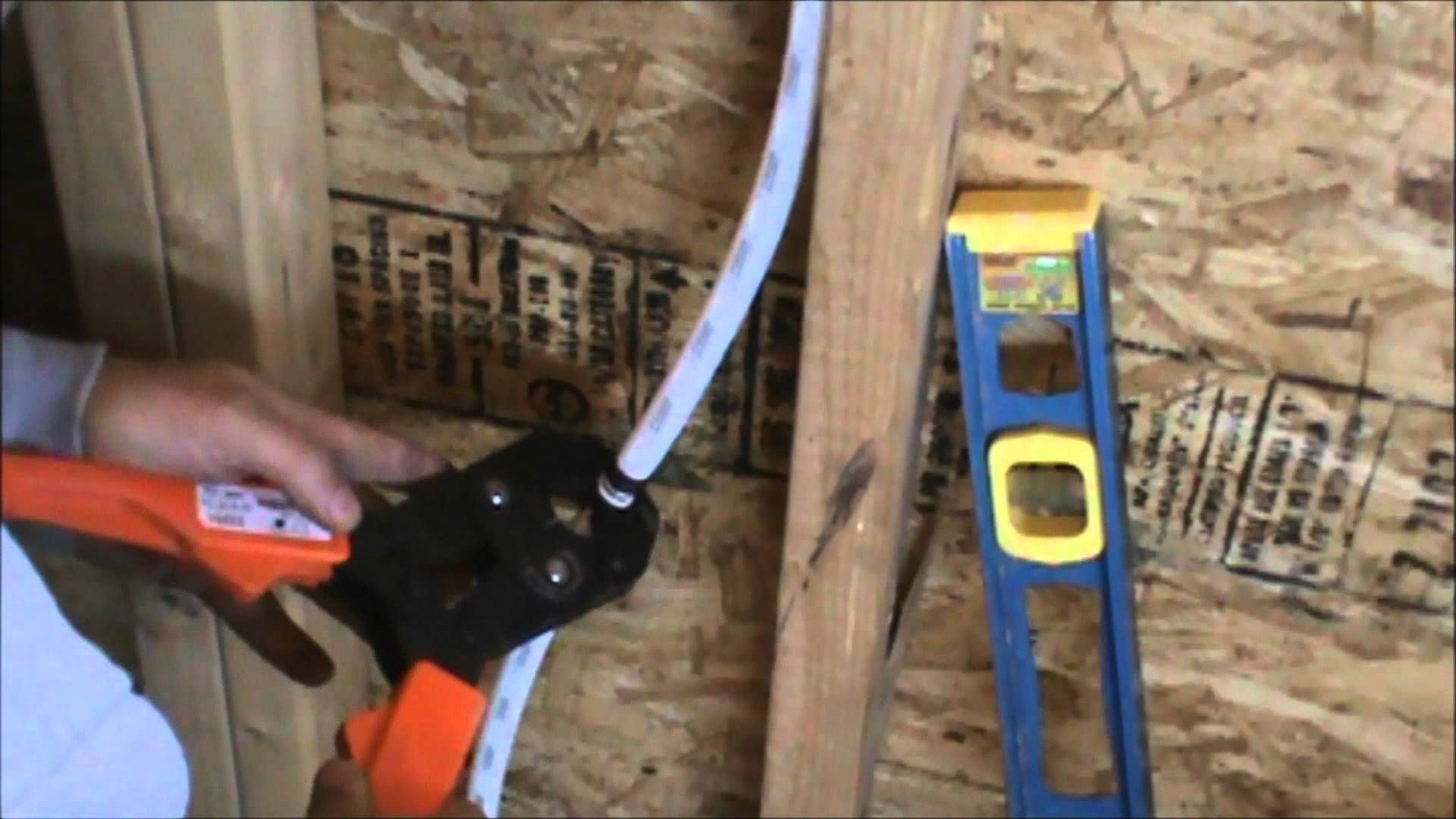 How To Run Pex Tubing Water Lines Part 2