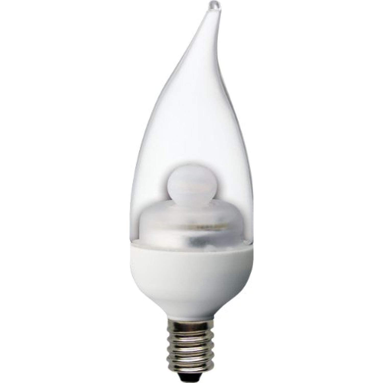 Ge Lighting 68166 Energy Smart Led 3 5 Watt 25 Watt Replacement 170 Lumen Bent Tip Light Bulb With Candelabra B Dimmable Led Lights Light Bulb Led Light Bulb