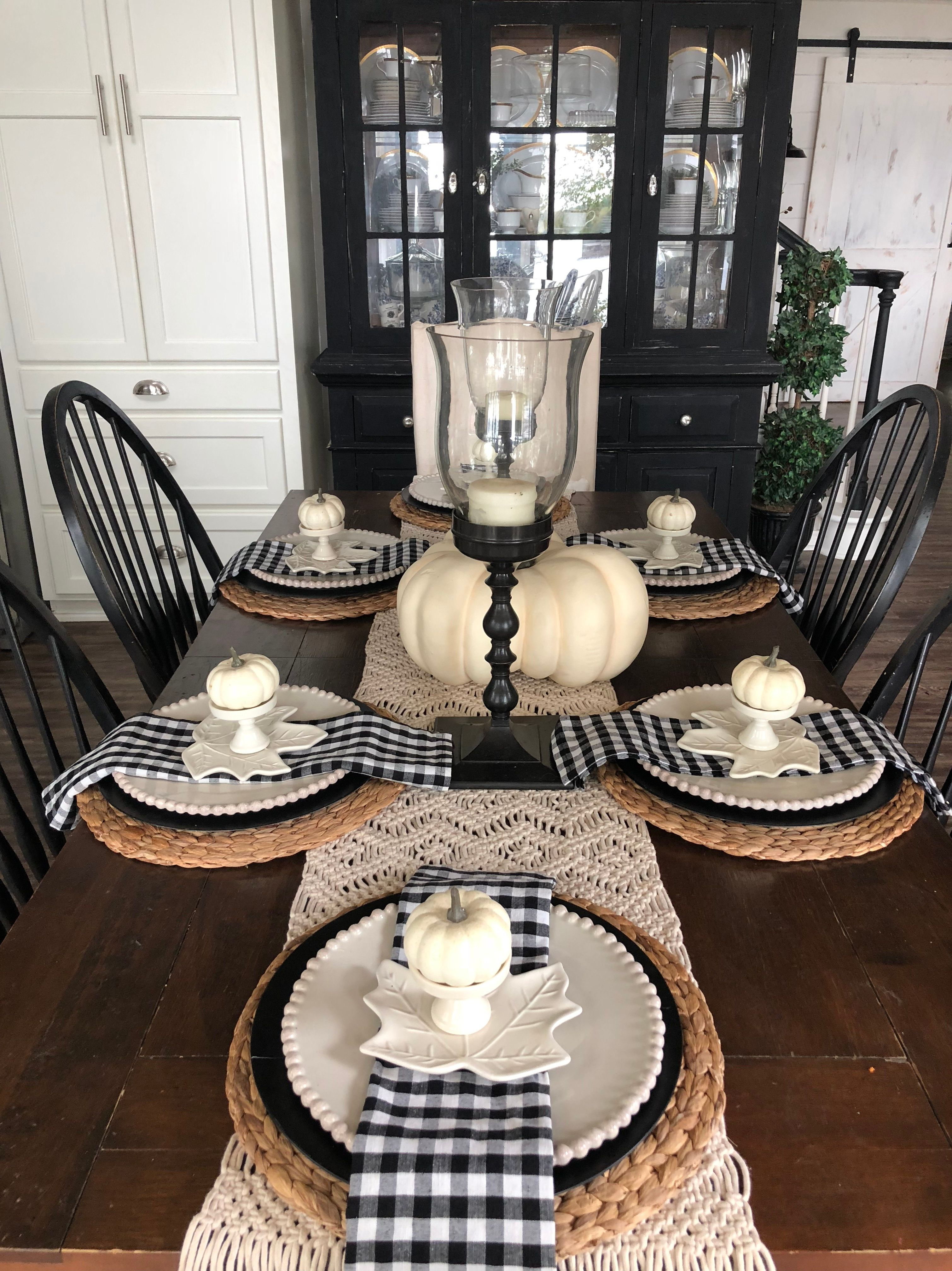 Sharing some fall table top inspiration with tips and ...