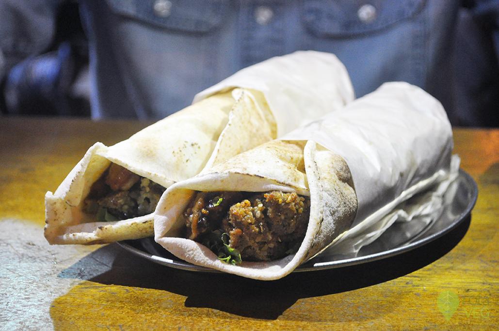 Sanduíche de falafel - Al Hoda
