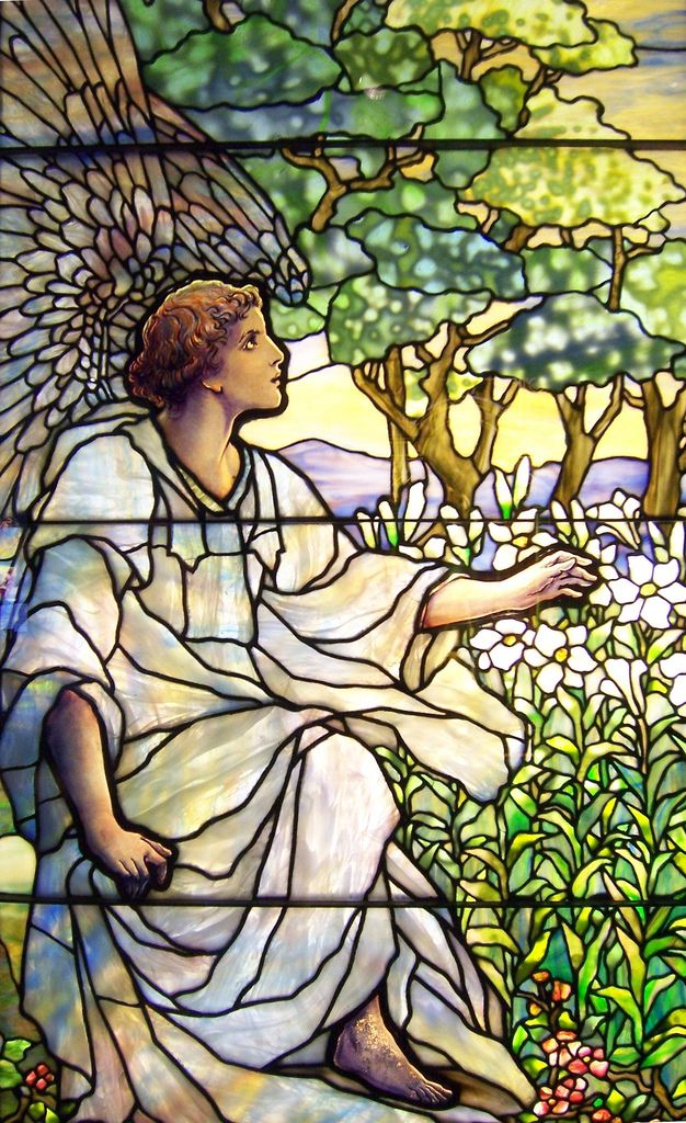 "https://flic.kr/p/gMTTp | Smith Museum of Stained Glass Angel 3 | Stained glass window from the Smith Museum of Stained Glass at Navy Pier in Chicago, Illinois.  <a href=""http://www.flickr.com/groups/association/"">Tenuous Link</a>:  Angel."