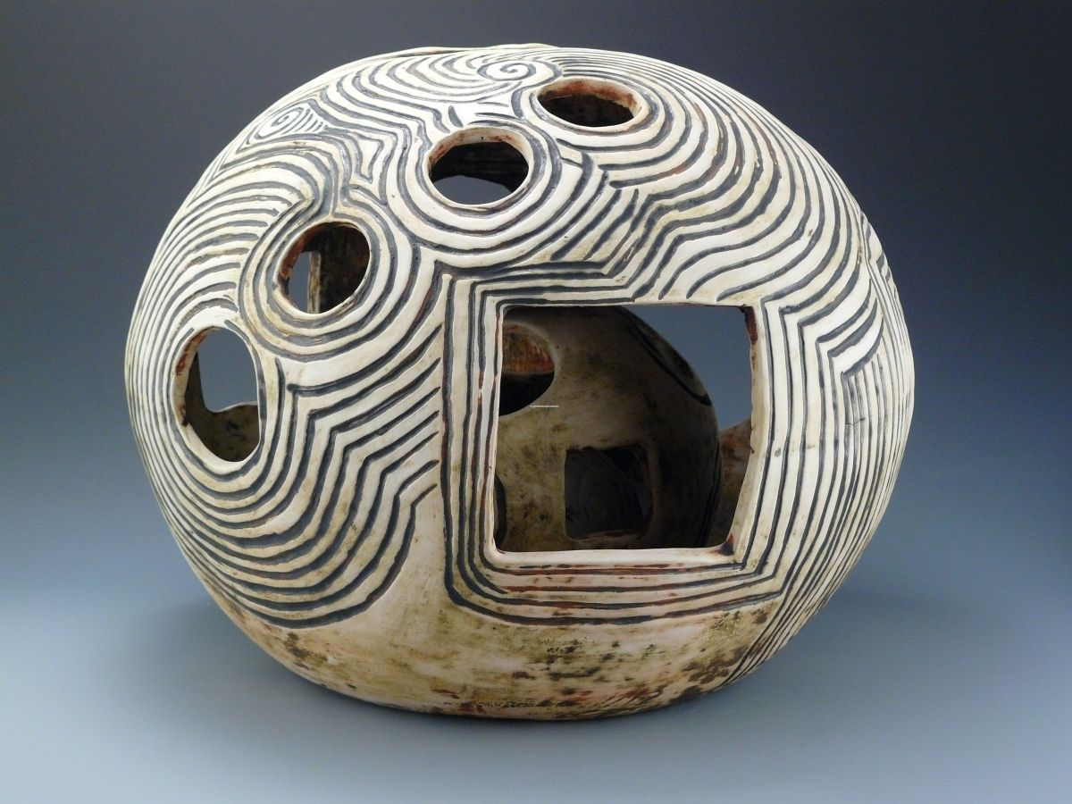 Vivian Ginsberg Smith Ceramic Art Sculpture Clay Sculpture Ceramic Art