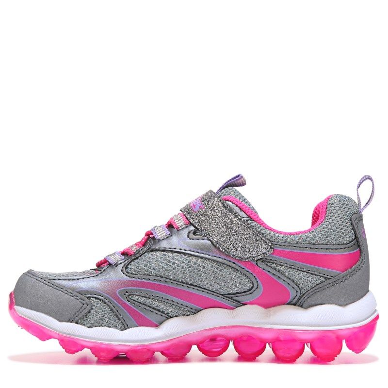 Skechers Kids' Skech Airlites Sneaker Preschool Shoes (Gunmetal/Pink)