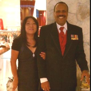 My oldest sister, Mayumi and her husband Larry