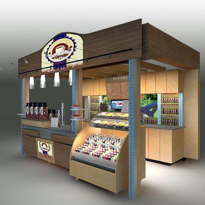 3d coffee kiosk model | Coffee Kiosk Ideas in 2019 | Kiosk