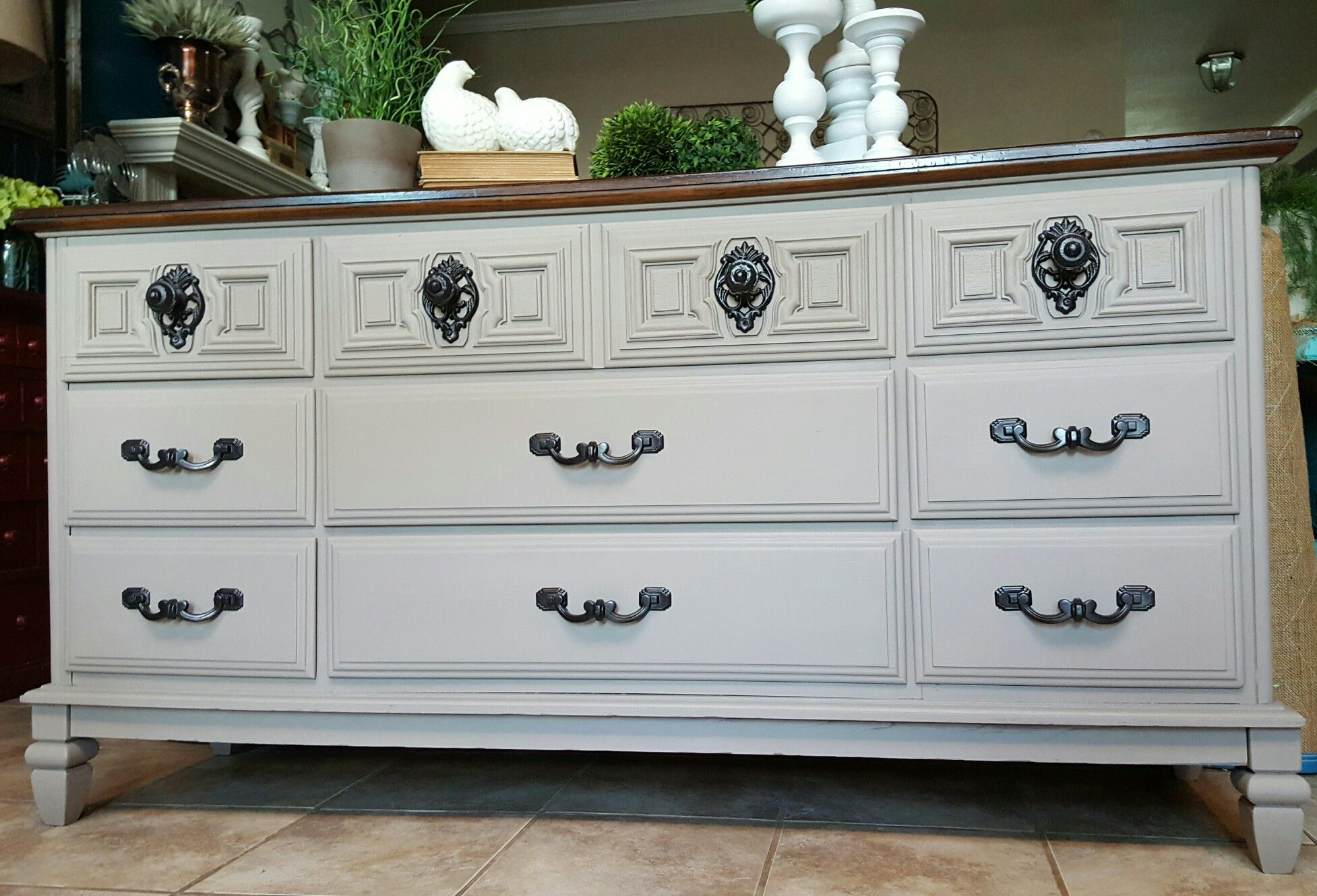 Genial Beautiful Vintage Owosso Dresser In Algonquin Fusion Mineral Paint By  @WhyNotRedesign Www.facebook.