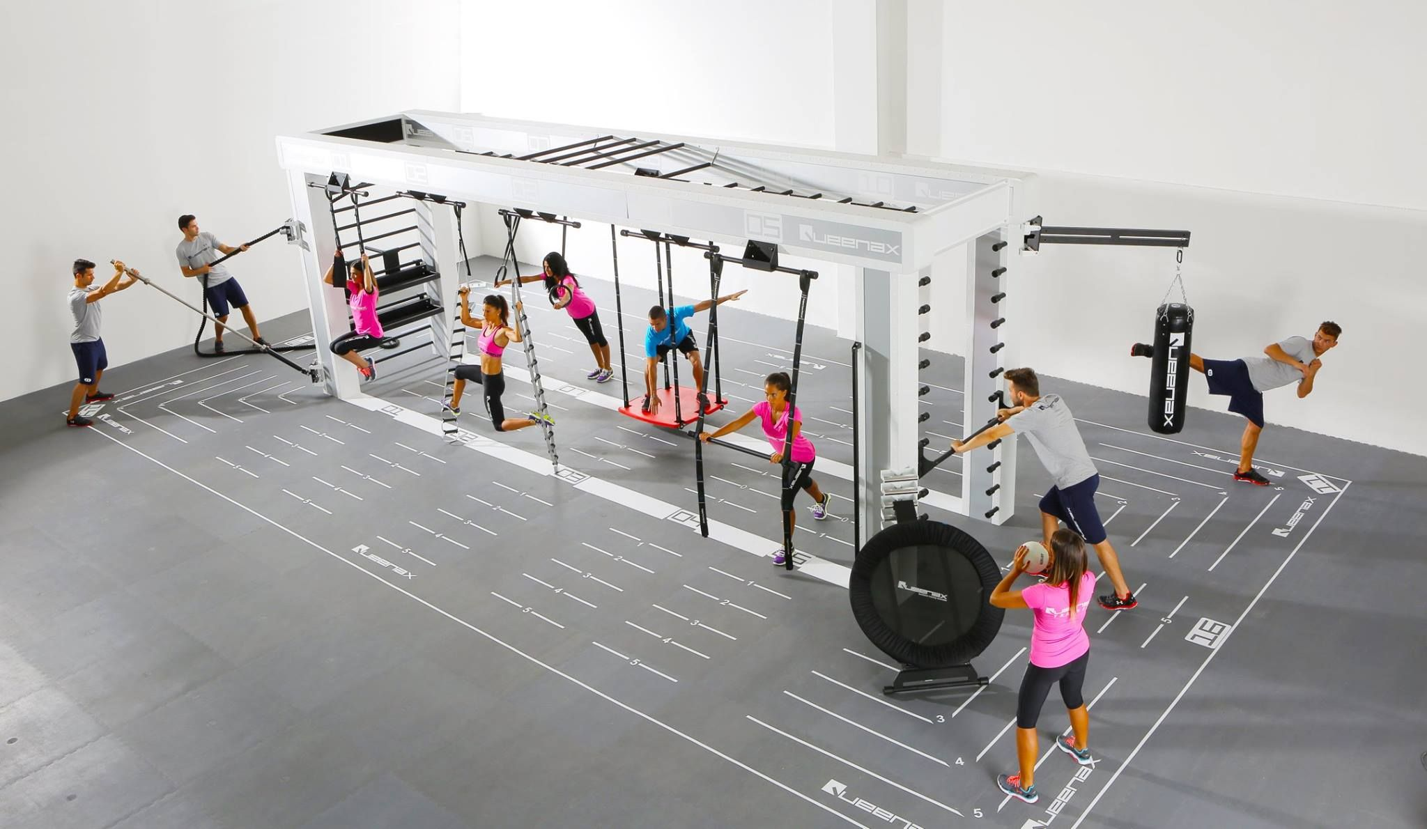 Queenax Functional Training Strength Machine Functional Training Gym Gym Interior Gym Decor