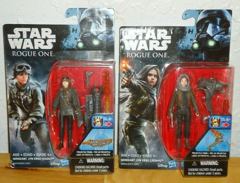 Star Wars Rogue One Sergeant Jyn Erso Figure WITHOUT HEAD