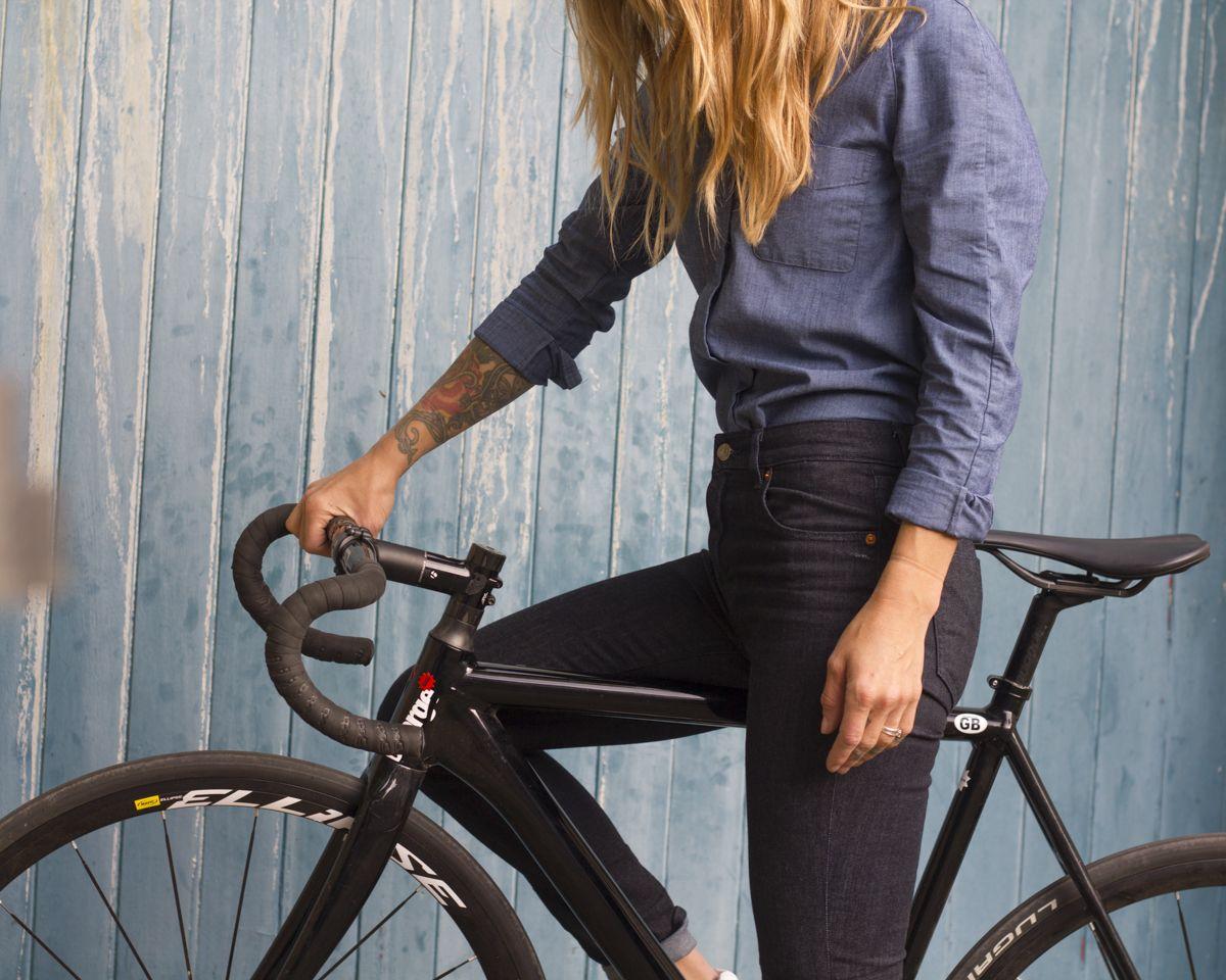 Review Women S Levi S Commuter Jeans Bike Commuter Fashion