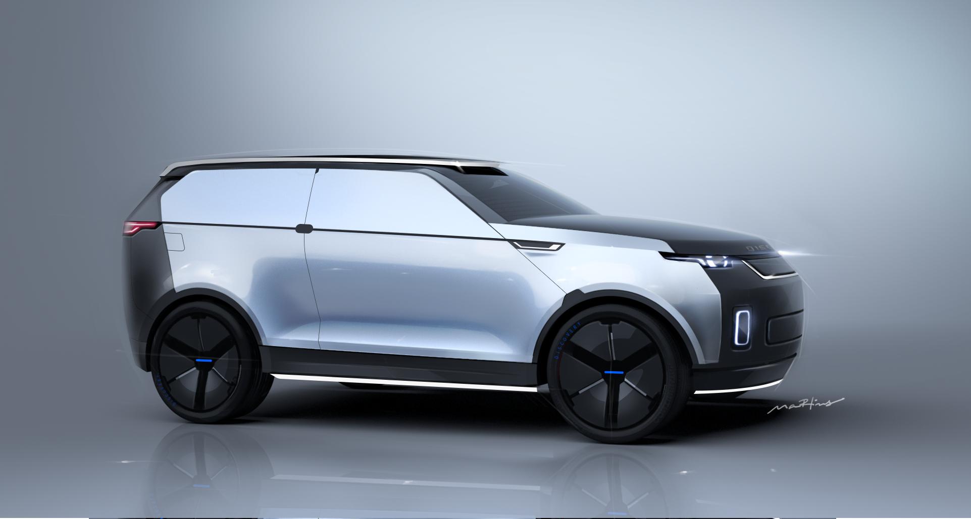 Fernando Martins Land Rover Discovery Concept