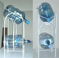 Porta garrafn inteligente vertical doble  Krishna  Taller de herreria Garrafones de agua Garrafones