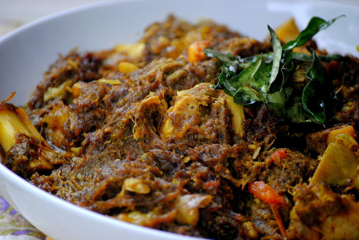 Dry Mutton Andhra Style