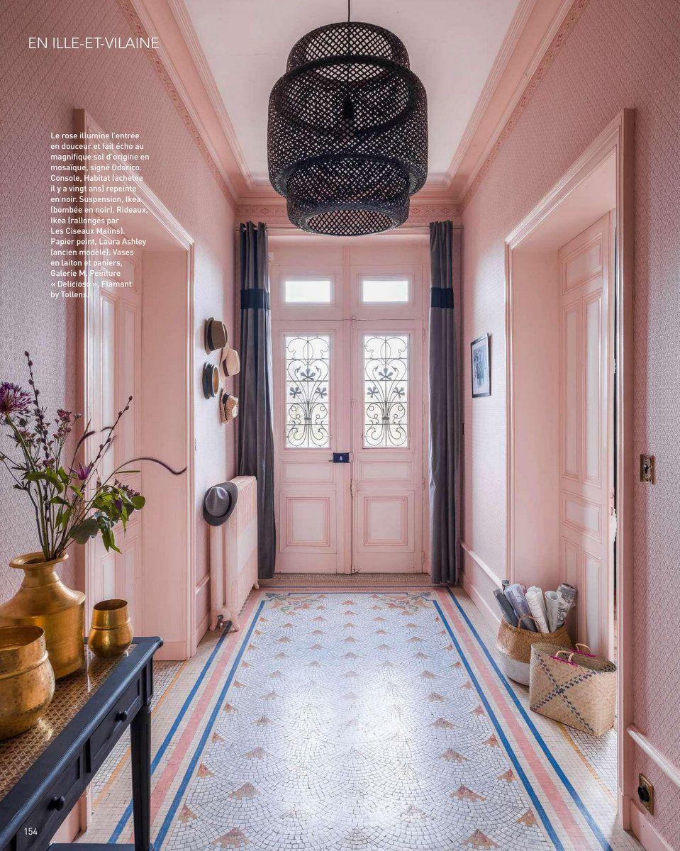 Art Decoration Mai 2018 Une Maison Des Annees 1920 Pres De Rennes Magazine Ma Decoration Maison Annees 1930 Maison Des Annees 1920 Deco Maison Ancienne