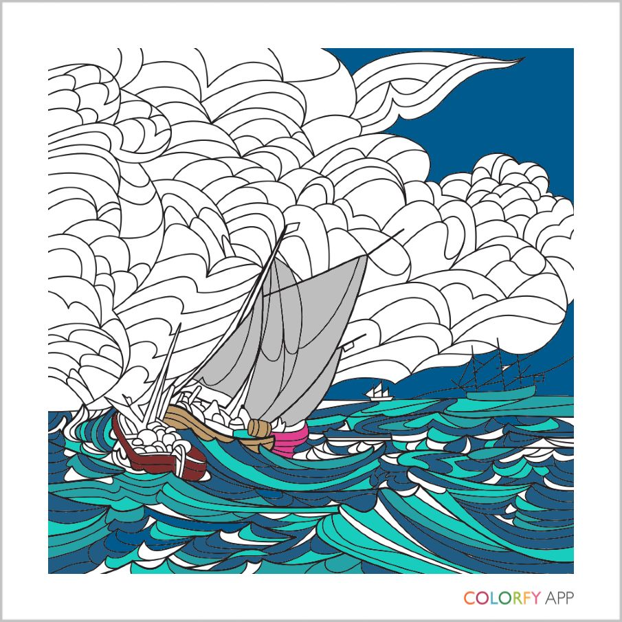 Zen coloring books for adults app - Official Website Of Colorfy Coloring Book For Adults Free App Available For Iphone Ipad And Android