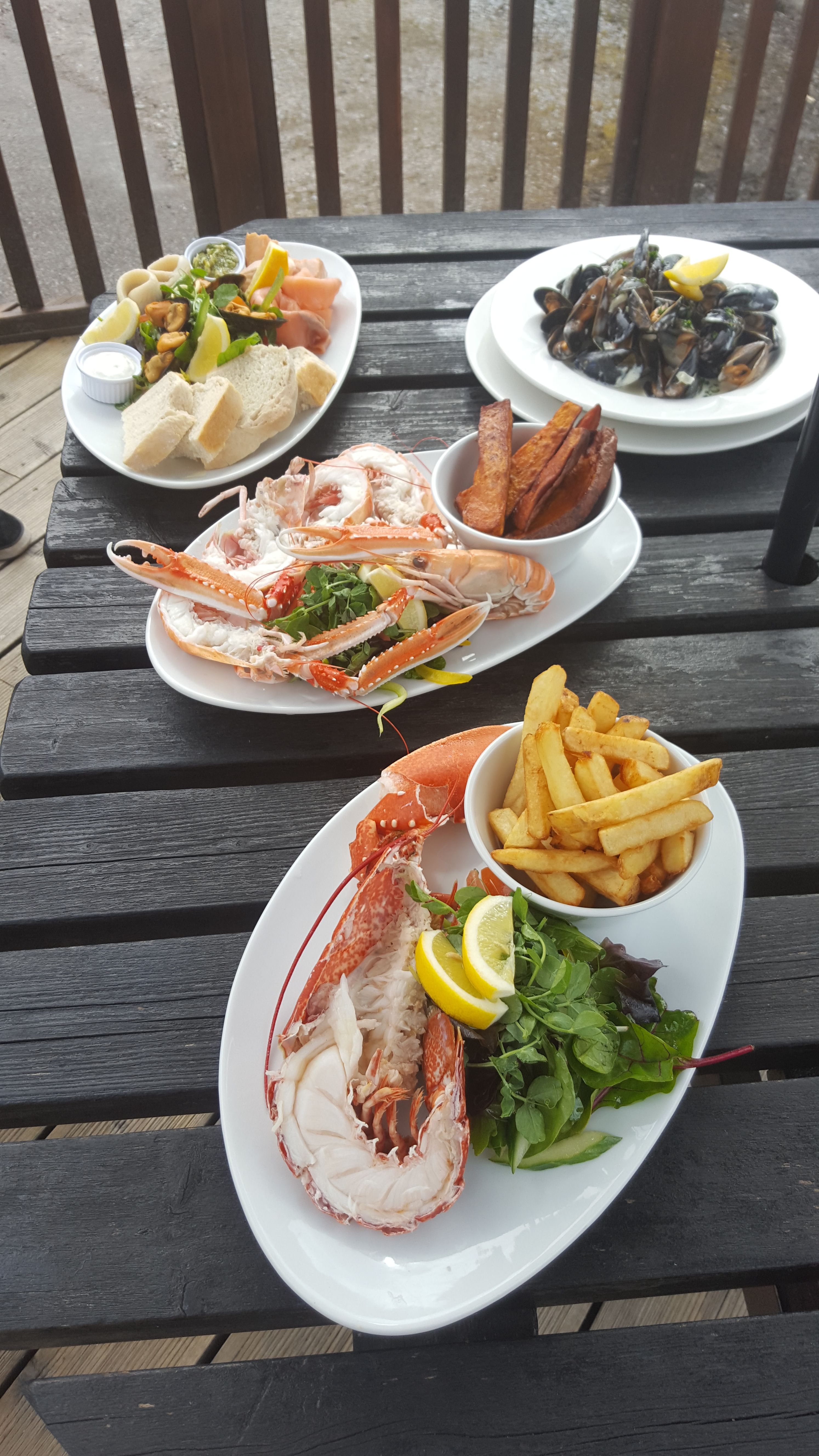 Looking for fresh seafood in Lochaber then why not try Arisaig Hotel. During the Summer months you can enjoy some alfresco dining whilst looking over the stunning Arisaig Bay.