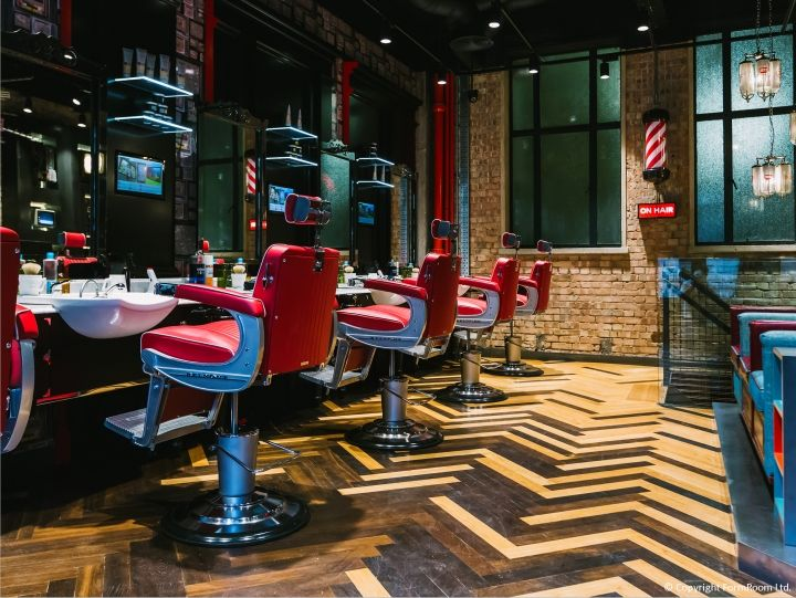 Ted Baker Lancaster Place Grooming Room By Formroom London Uk