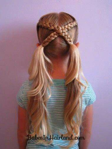 Easy Hairstyles For Kids 17 Super Cute Hairstyles For Little Girls  Kid Hairstyles Hair