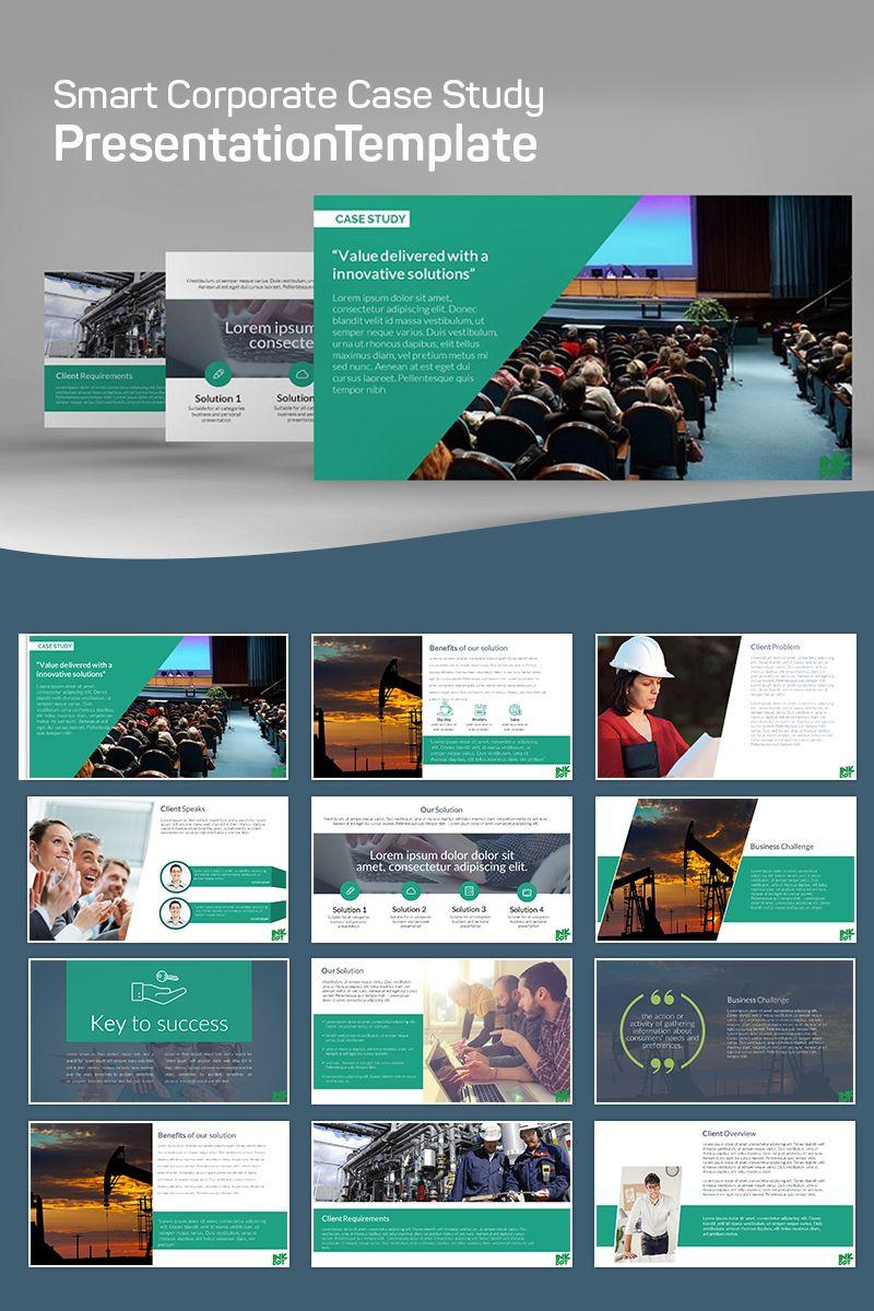 Modern Case Study Powerpoint Template Templatemonster Case Study Template Case Study Design Case Study