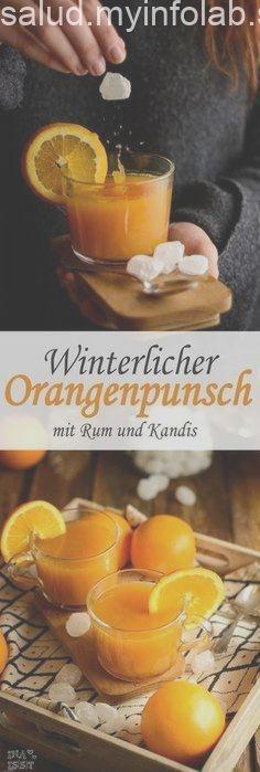 Winterlicher Orangenpunsch mit Rum und Kandis von Diamant Zucker Winterlicher Orangenpunsch mit Rum und Kandis von Diamant Zucker,