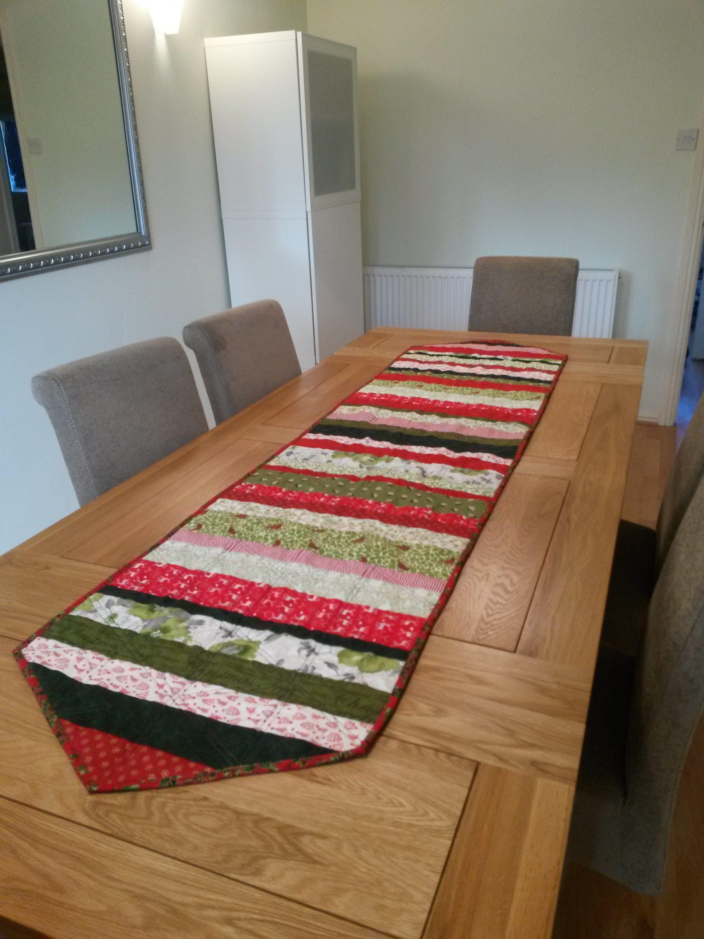 Christmas Table Runner  Back