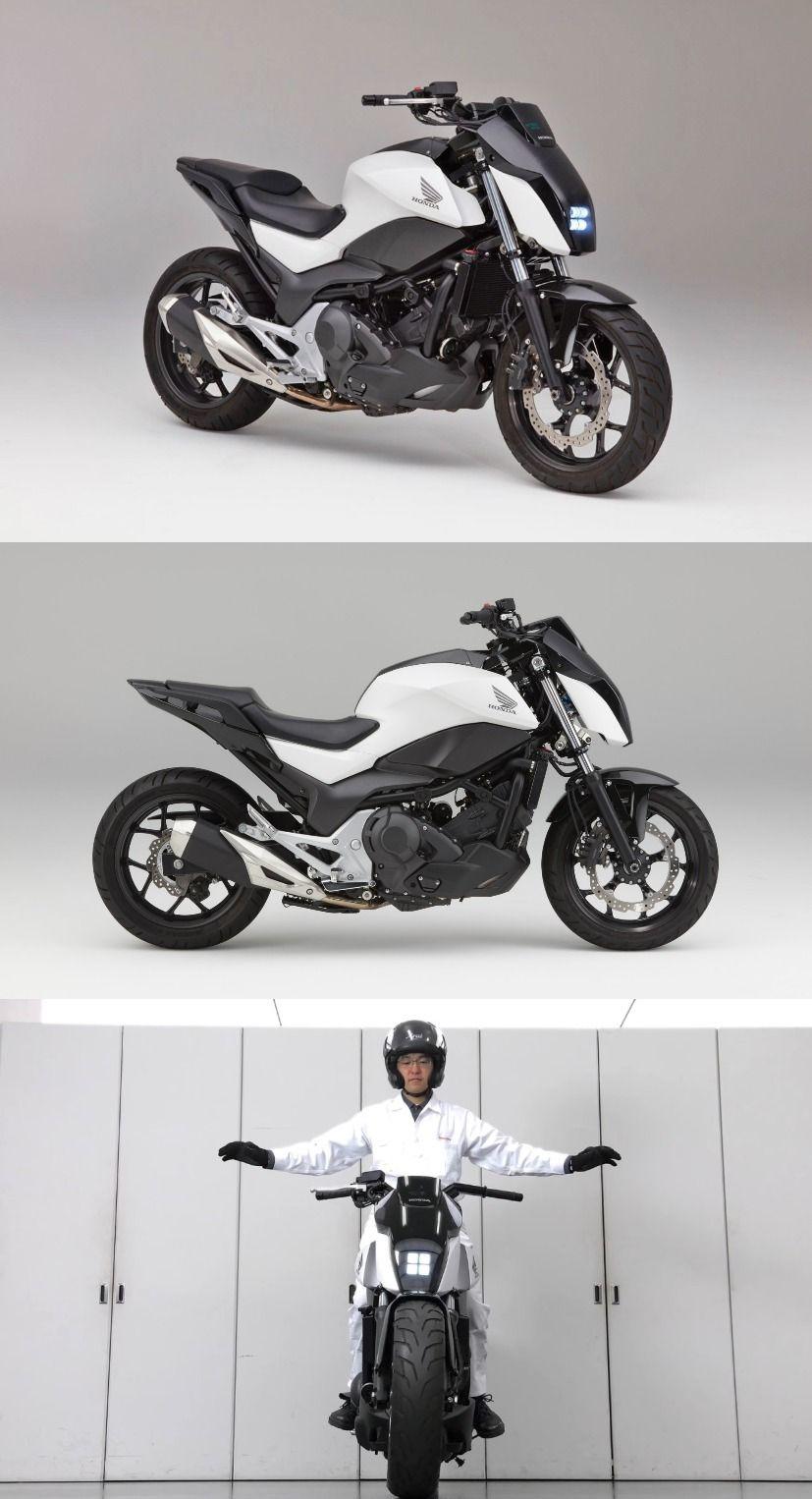 CES 2017: Honda Showcased Self-Balancing Motorbike | HONDA ...