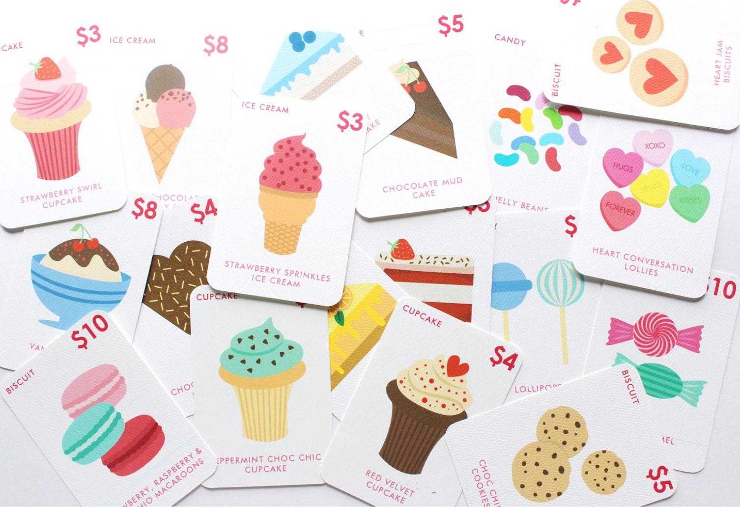 Free Printable Sweet Shop Kids Game