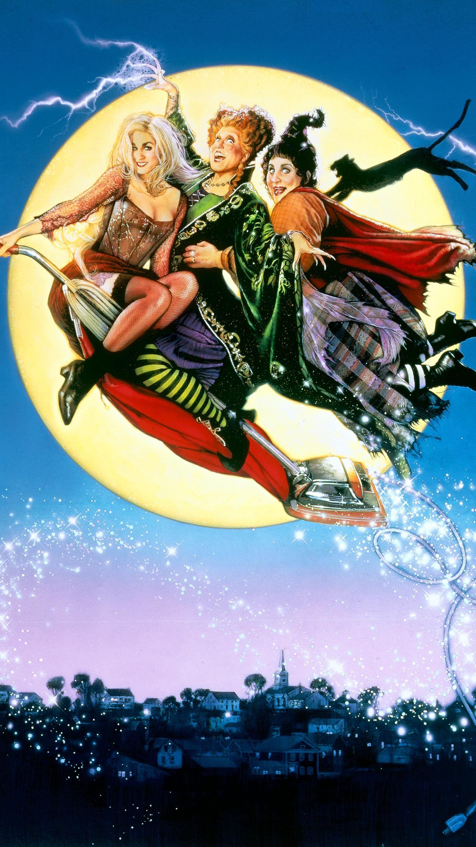 Hocus Pocus 1993 Phone Wallpaper Moviemania Halloween Halloween Movies Halloween Wallpaper