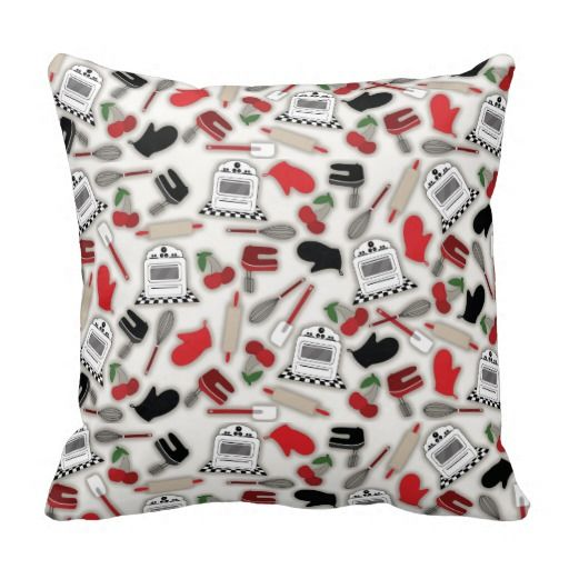 Vintage Glamour Kitchen Pillow Pillows Pinterest Discover