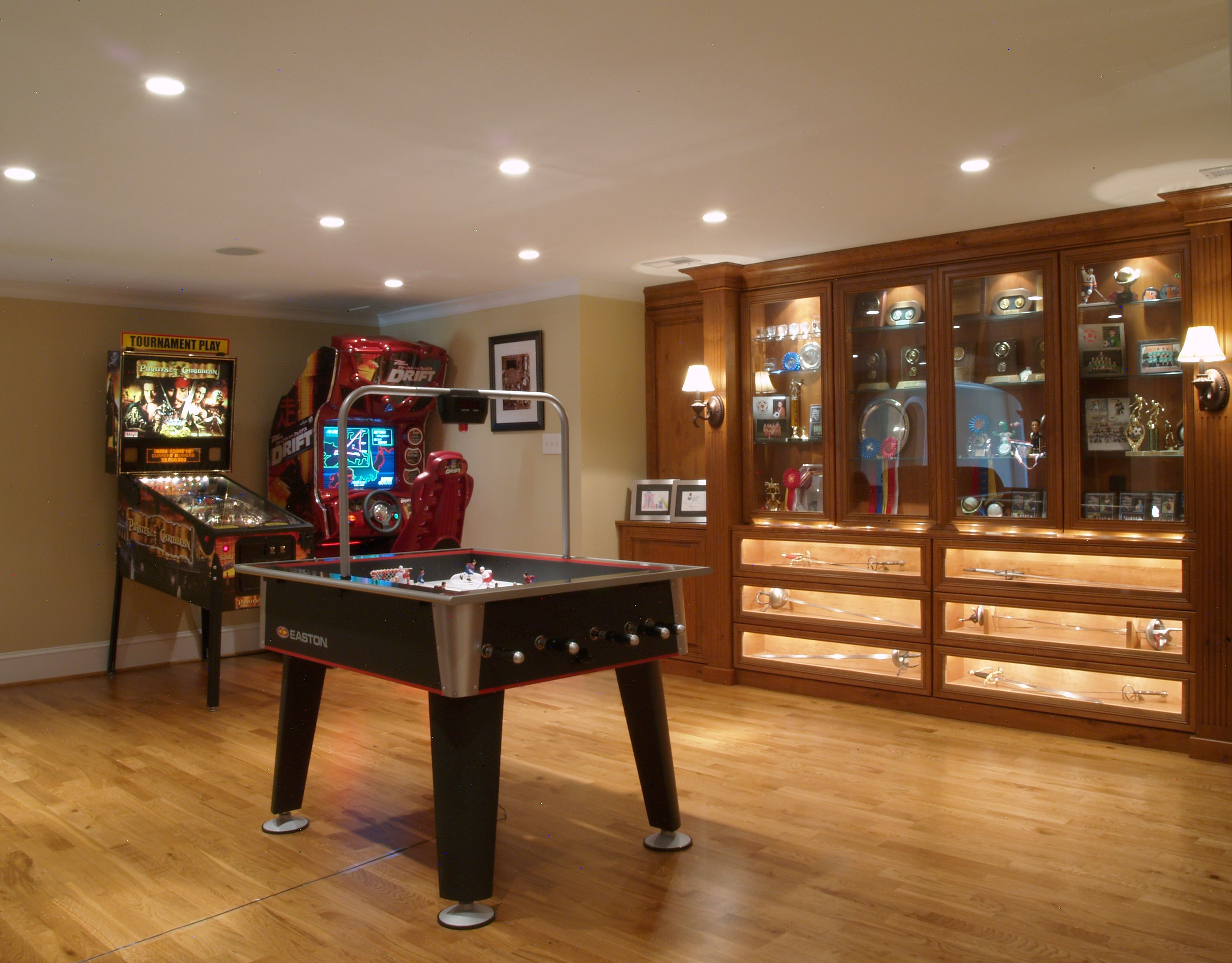 delightful Game Room in Basement amazing design