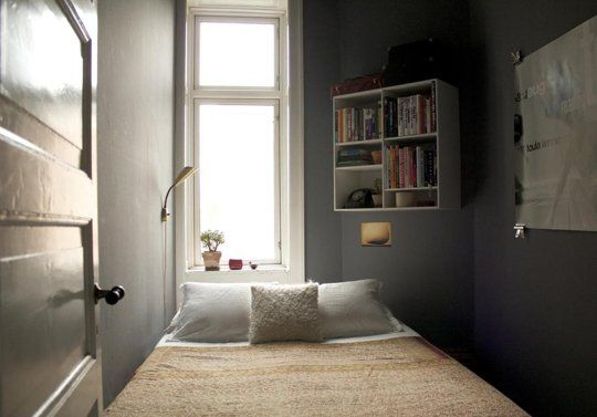 Studio Apartment Separate Sleeping Area love a tiny sleeping room (with separate dressing room / closet