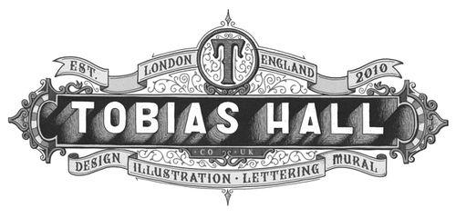 betype:  Tobias Hall Logo