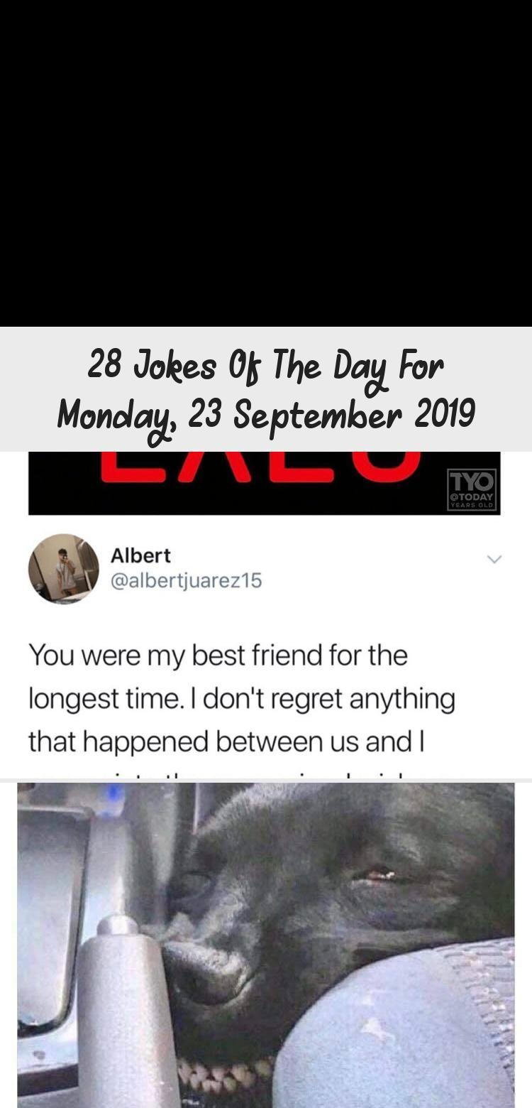28 Jokes Of The Day For Monday 23 September 2019 Joke Of The
