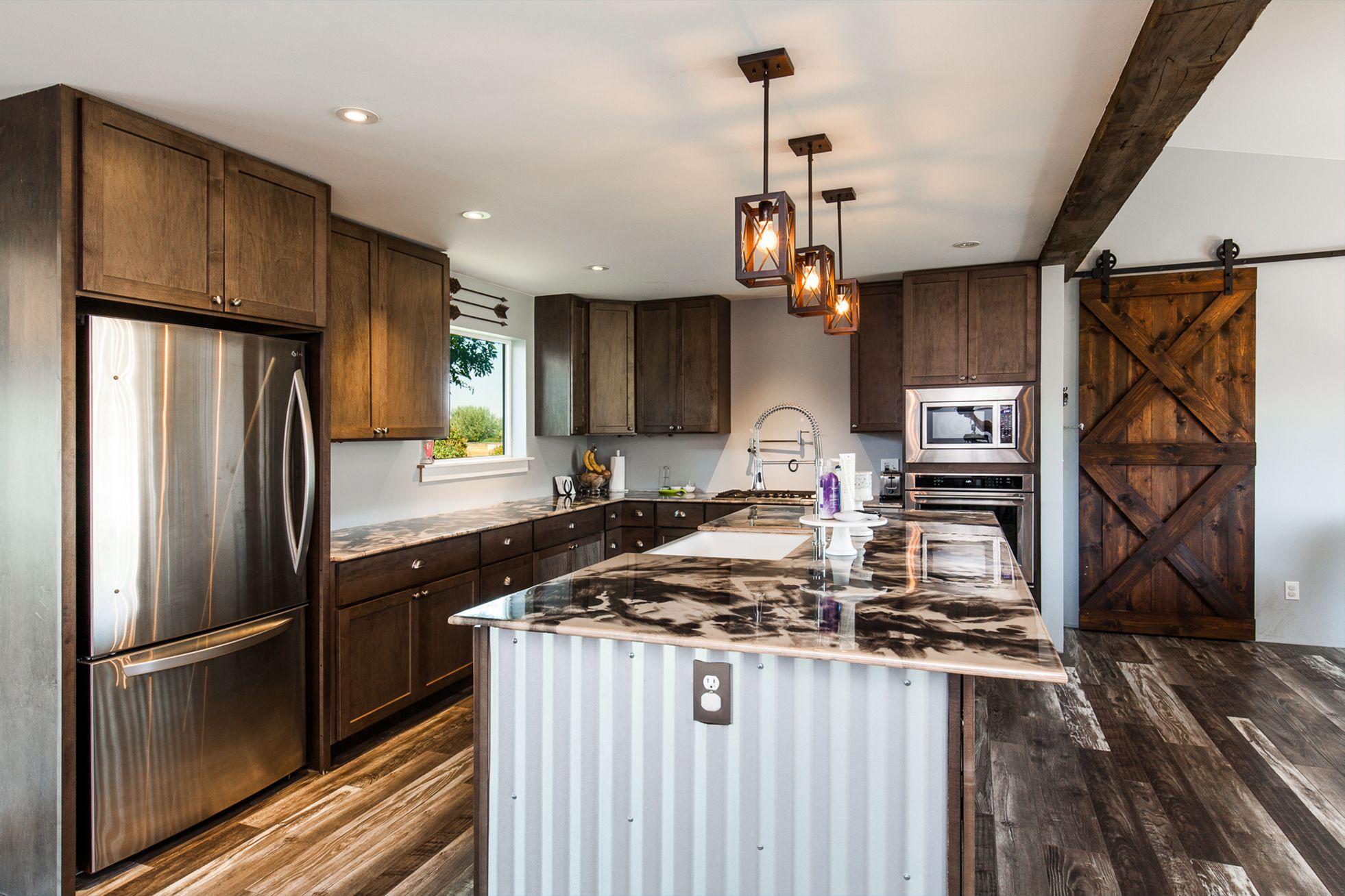 Dark Oak Kitchen Cabinets & Dream Kitchen Ideas   Kitchen ...