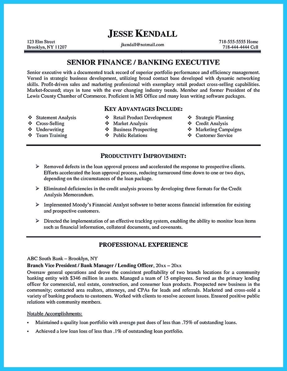 Manager Resume Awesome Starting Successful Career From A Great Bank Manager