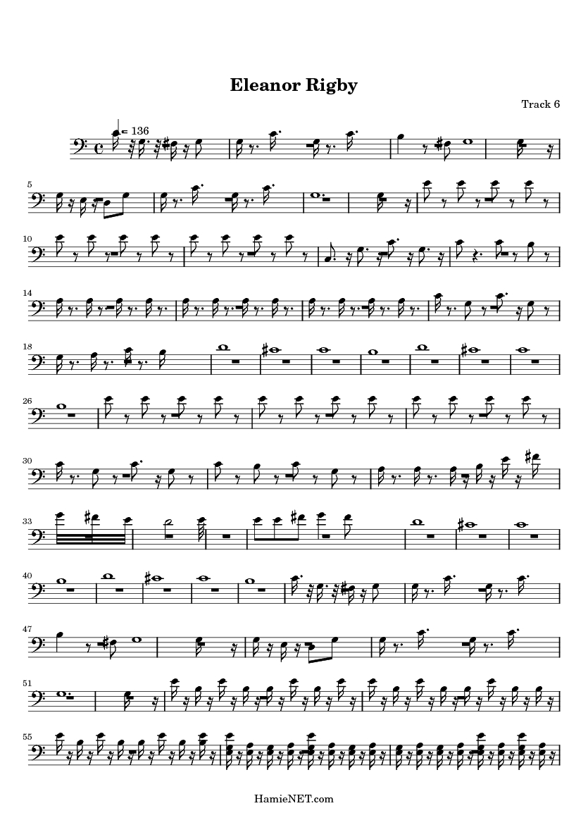 Eleanor rigby sheet music eleanor rigby score hamienet eleanor rigby sheet music eleanor rigby score hamienet nvjuhfo Image collections