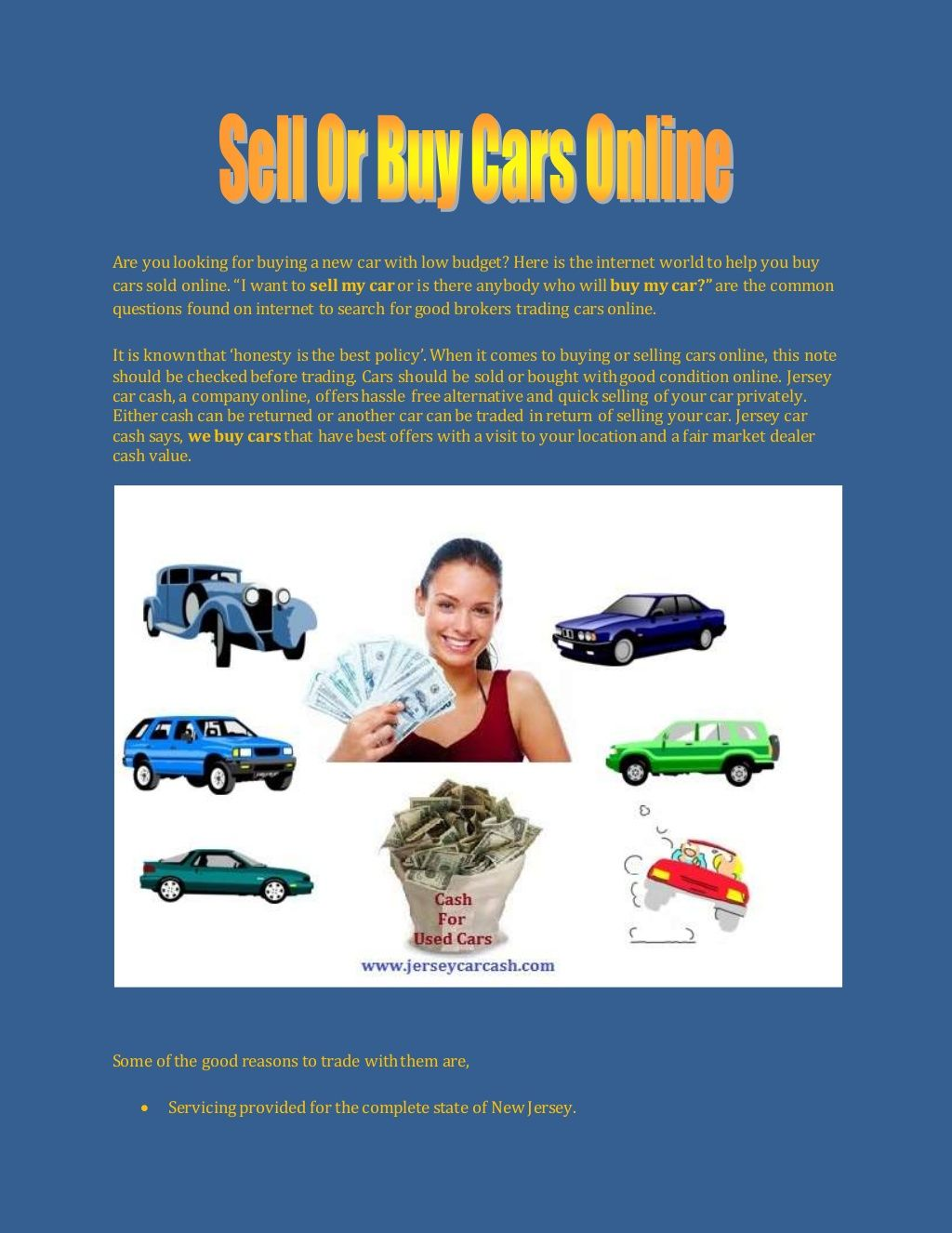 Online sell your car for cash | News & Services | Pinterest | Buy ...