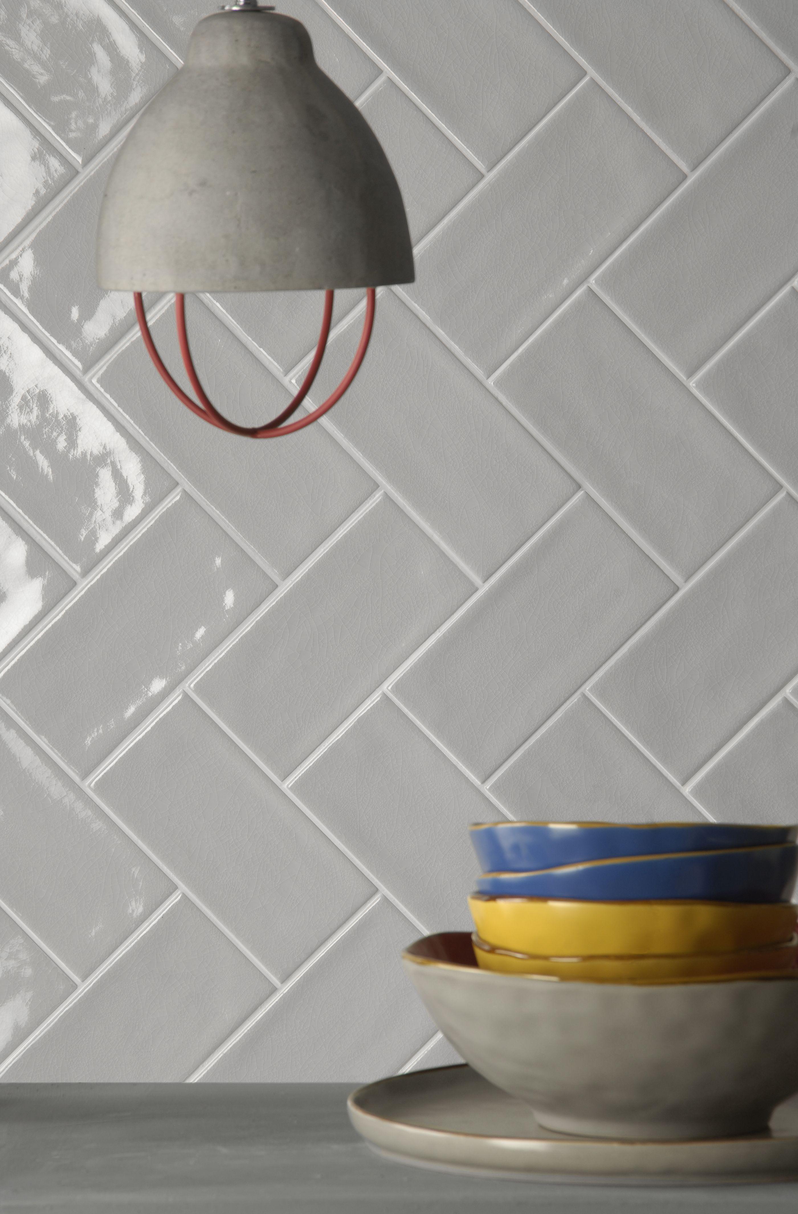 Piastrelle rettangolari in formato 10x20 della collezione for Piastrelle cucina design