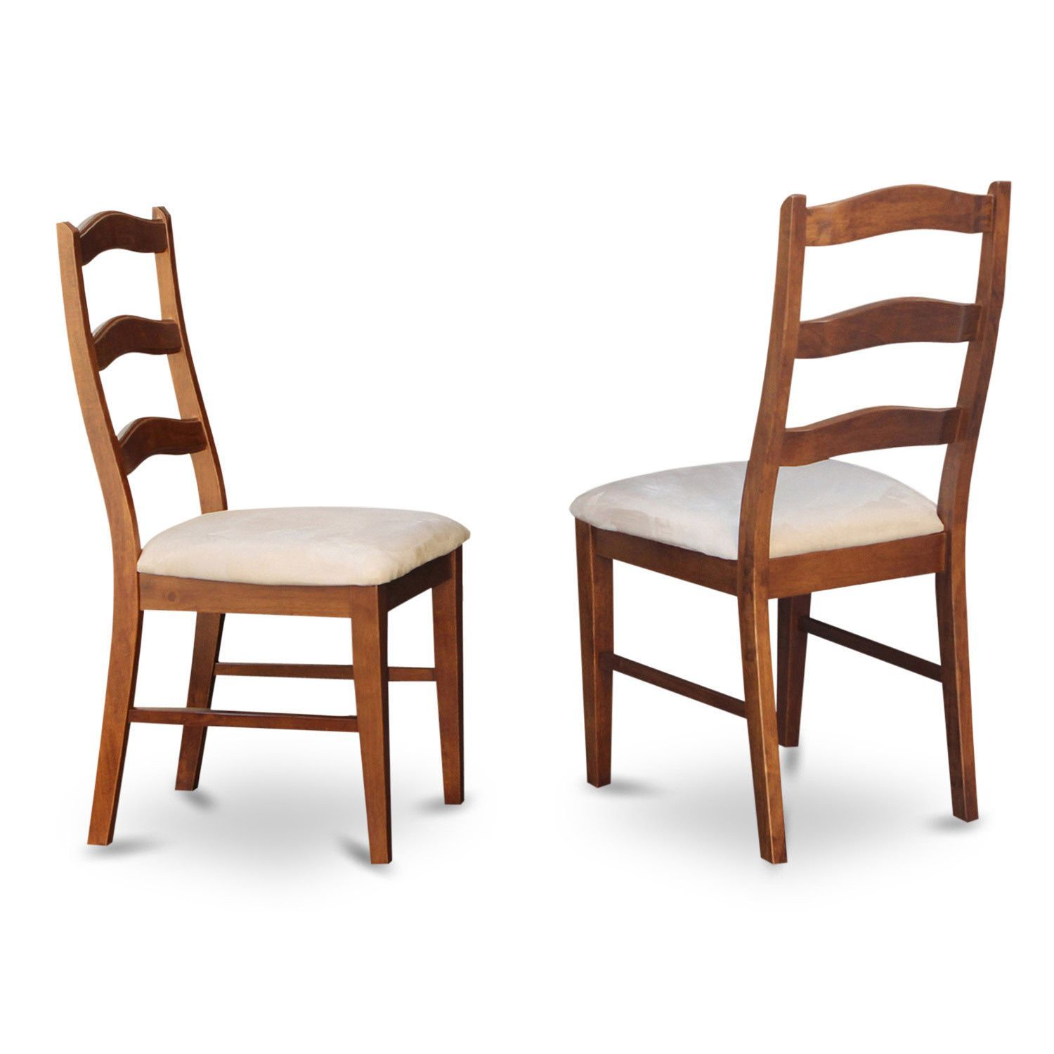Henley Cinnamon (Red)/ Espresso Ladder Back Dining Chair (Set of 2) (