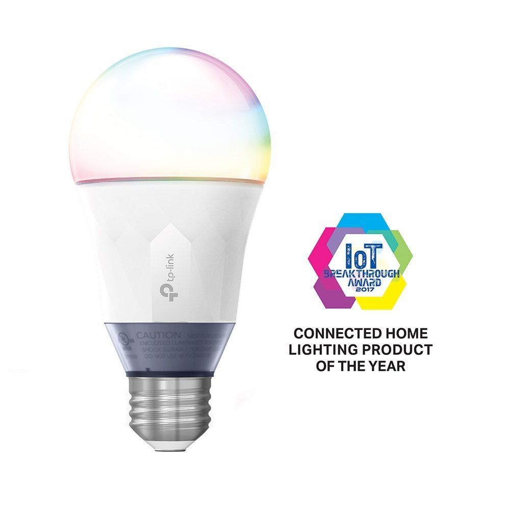 Tp Link Multicolor Smart Wi Fi Led Bulb Dimmable Tunable White No Hub Required 60w Equivalent Works With Amazon Alexa 1 Pack Lb130 Led Bulb Smart Bulb Smart Bulbs