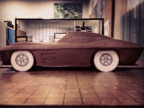 60's #Corvette #StingRay #clay model #transportationdesign #automotive #automotivedesign #cardesign #sideview #productdesign #industrialdesign #cardesigncommunity
