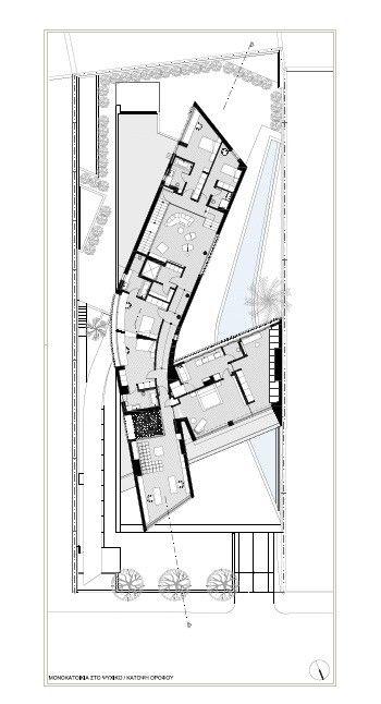 Gallery Of Psychiko House Divercity 19 Modern Floor Plans Hotel Floor Plan Hotel Plan