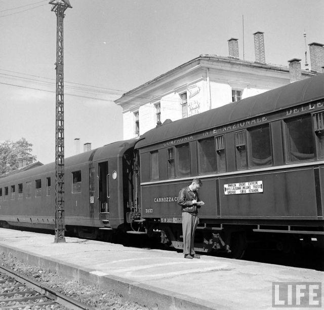 Forums Lr Presse Voir Le Sujet Archives Photo De Life Vintage Train Amiens Orient Express