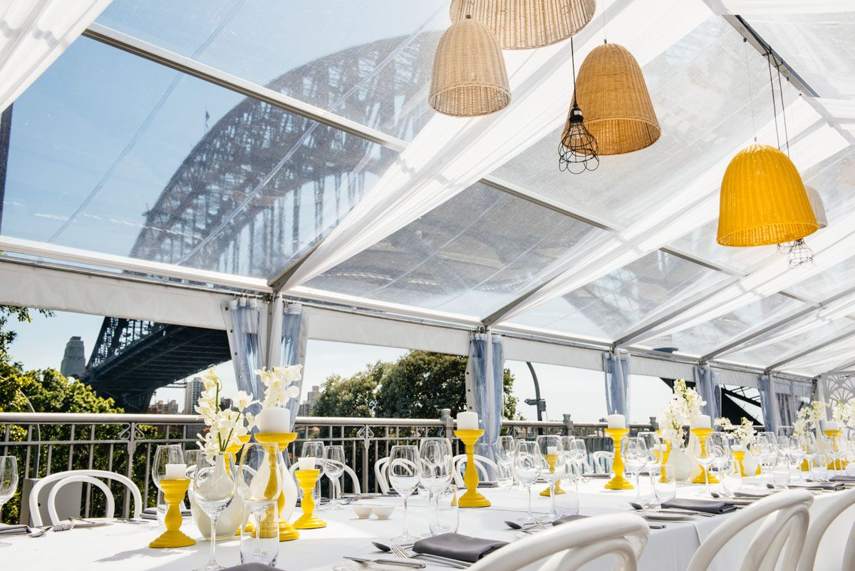 The stunning new venue, Bridge @ Pier One, perfect for a ...