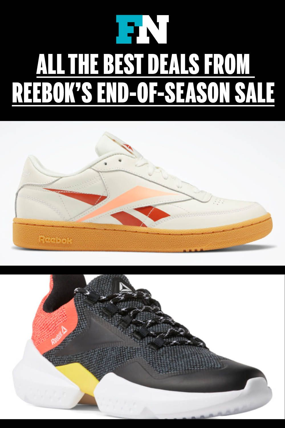 All The Best Deals From Reebok S End Of Season Sale Athleisure Brands Reebok Sneakers