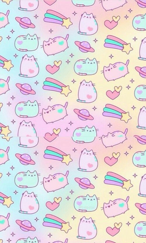 Discover And Share The Most Beautiful Images From Around The World Pusheen Cute Cute Pastel Wallpaper Cute Wallpapers