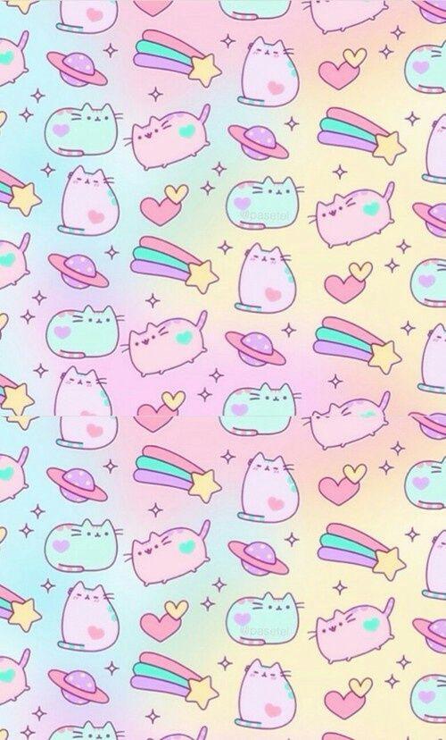 Background Image Pusheen Cute Kawaii Background Cute Wallpapers